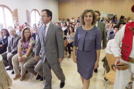 'Agustinet' y Neus Marí inician el traspaso de poderes en Sant Josep