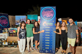 Children of the 80's recauda más de 3.700 kilos de alimentos a beneficio de Food for Ibiza