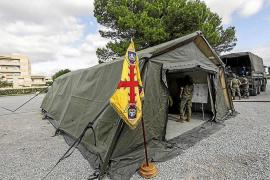 Las jornadas de 'Inteligencia y Emergencias' traen a Santa Eulària el puesto de Mando Operativo de la UME