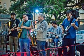 La conocida banda de funk acid jazz Saxophobia Funk Project recala en S'Embat