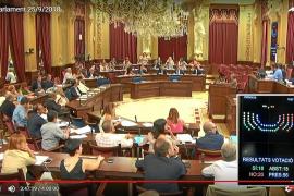 El voto en contra del PSOE al decreto de transporte marítimo abre un cisma en Formentera
