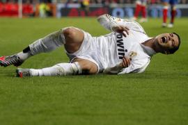Cristiano Ronaldo sufre un esguince en el tobillo izquierdo
