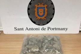 Detenido en Sant Antoni un joven con 2 kilos de cristal valorados en 100.000 euros