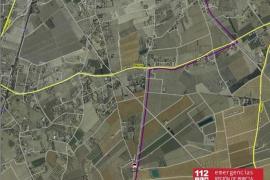 Un conductor arrolla a ocho ciclistas en Lorca (Murcia)