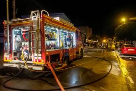 La huella del incendio en Sant Jordi, en imágenes (Fotos: Marcelo Sastre / Daniel Espinosa).