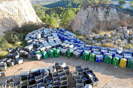 Reinicia justifica que se dará una «segunda vida» a los contenedores de sa Pedrera de Can Coix