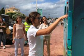 Formentera plantea un sistema de recompensas para fomentar el reciclaje entre vecinos y visitantes