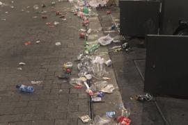 EPIC denuncia la suciedad generada en una fiesta en el puerto de Ibiza