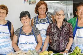 Manos Unidas celebra la XXV paella popular en Sant Rafel con otro lleno
