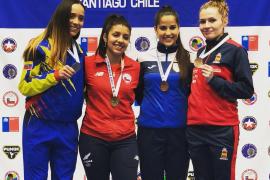 Cristina Ferrer logra el bronce en la Copa Iberoamericana