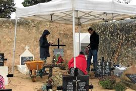Los fusilados del cementerio de Sant Ferran se quedan sin identificar