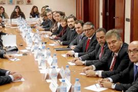 palma reunion hoteleros con banqueros foto miquel a.