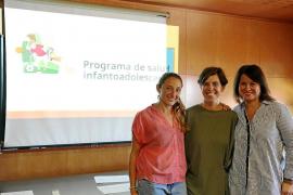 Dos trabajadoras pitiusas de Atención Primaria participan en un nuevo Programa de Salud infanto-adolescente