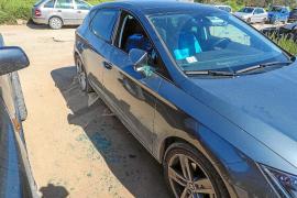Denuncian una oleada de robos en coches en un aparcamiento de Platja d'en Bossa