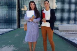Patricia Lliteres y Patricia Campomar
