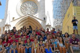 Regreso a Tarragona de los Castellers de Mallorca