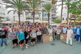 Los jubilados de Ibiza buscan blindar las pensiones por ley