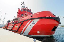 El Marta Mata, el remolcador de Salvamento Marítimo