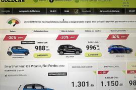 Comercialización de más de 1.000 euros por día de los rent a car