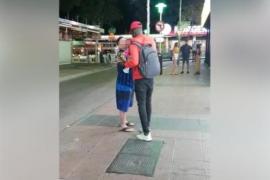 'KO' en Magaluf: un vendedor ambulante noquea a un turista que le recrimina un robo