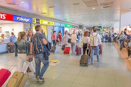 El gasto turístico en agosto aumenta un 6,5 % y alcanza los 695 millones