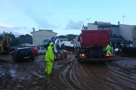 Sant Llorenç amanece entre la desolación y numerosos daños tras la tormenta mortal