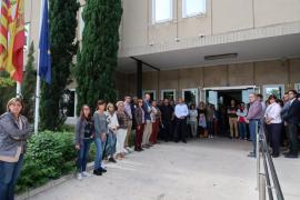 Mallorca guarda un minuto de silencio por los fallecidos en Sant Llorenç