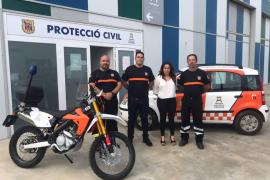 Agrupación de Protección Civil de Ibiza incorpora dos nuevos vehículos