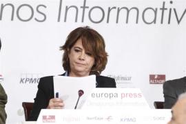"""Delgado asegura que su """"apoyo"""" es """"absoluto"""" a los jueces y fiscales de Cataluña"""
