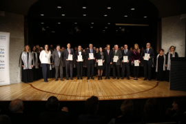Entrega de los galardones del Fomento del Turismo