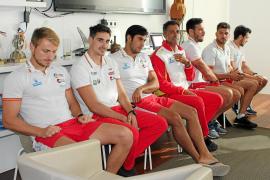 La selección nacional se ejercita en la isla