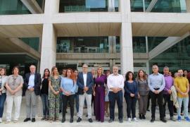 El presidente del Consell d'Eivissa asiste al funeral por las víctimas del Llevant