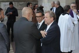 Las imágenes del funeral por las víctimas de la riada de Mallorca
