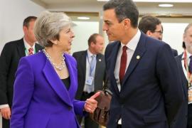 """Sánchez y May negociarán el Brexit y Gibraltar en clave """"constructiva"""""""