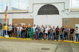 Los funcionarios de la cárcel de Ibiza, a punto para las huelgas del 24 y 26 de octubre
