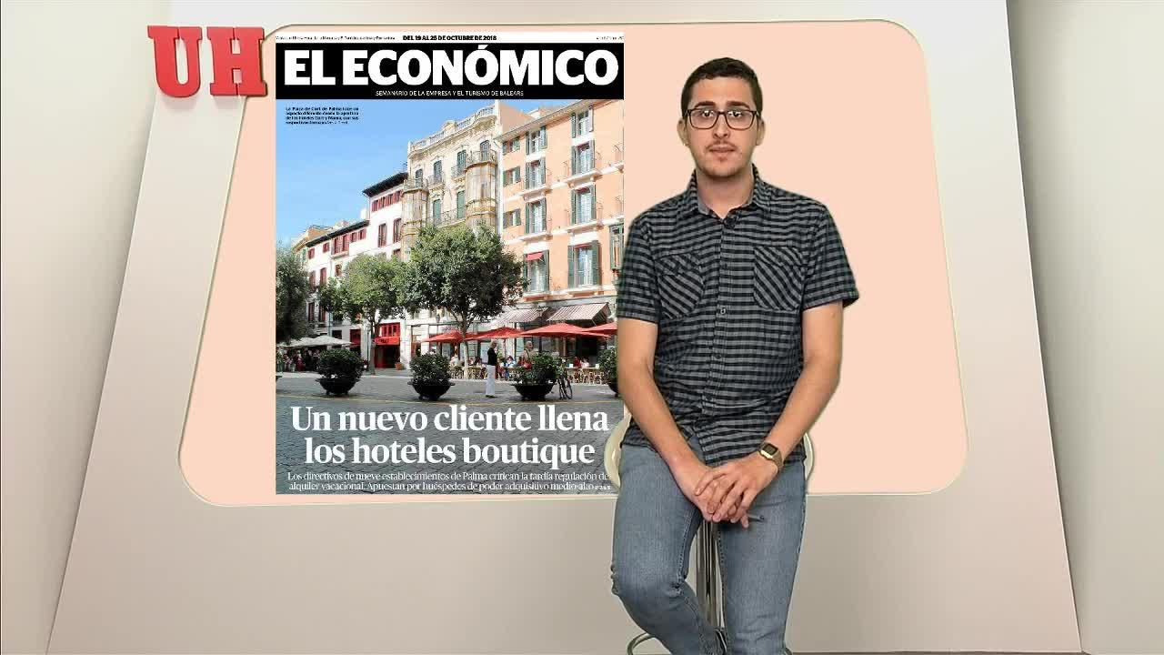 Hoteles urbanos, una oferta diferente en Palma