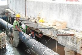 El lunes retoman las obras del puente del Torrent de sa Llavanera con un plazo de tres meses