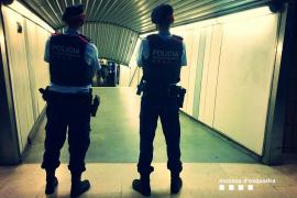 Agresión con cuchillo a un trabajador del Metro de Barcelona