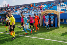Las mejores imágenes del partido entre la UD Ibiza y el Marbella (Fotos: Marcelo Sastre).