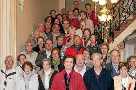 Miembros del Club Bon Aire visitan Can Prunera