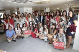 Candidatas a Miss Tourism Spain 2018 en 'Ultima Hora'
