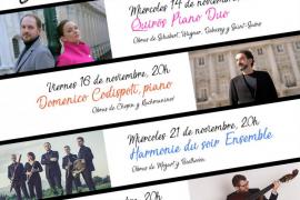 La Sociedad de Conciertos de Palma de Mallorca regresa con el Festival de Música George Sand