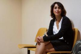 Juana Rivas en una viste en un tribunal italiano