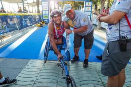 El Europeo de acuatlón celebrado en Sant Antoni, en imágenes (Fotos: Marcelo Sastre).