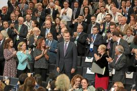 Felipe VI aboga por el desarrollo del turismo sostenible en Baleares