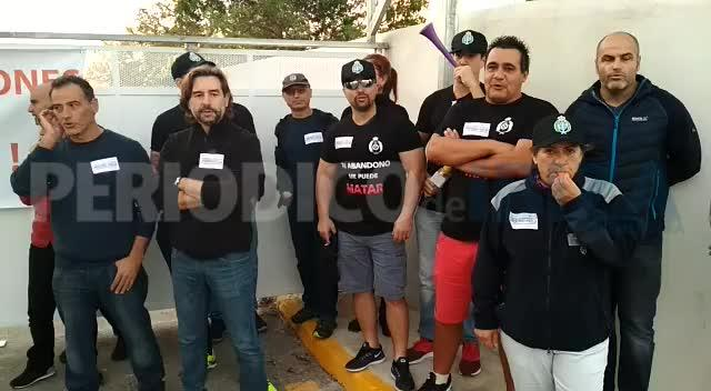 Los trabajadores de la prisión de Ibiza llevan a cabo la segunda jornada de huelga