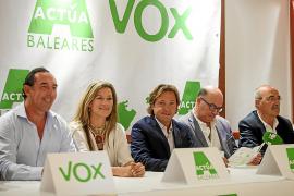 El exconcejal del PP Díaz de Entresotos es el presidente de Actúa-Vox en las Pitiusas