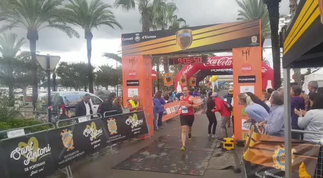 Miguel Caballero conquista la Ibiza Trail Maratón