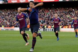 'Manita' del Barcelona al Real Madrid
