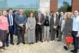 Despedida del coronel Jaume Barceló por su. jubilación